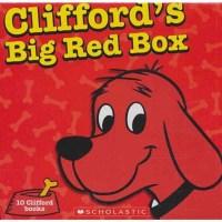 Clifford'sBigRedBox大红狗故事集10本套装50周年纪念版儿童绘本