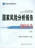 【正版现货包快递】2013国家风险分析报告上下册