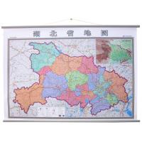 湖北省地图挂图1.4米*1米中国分省系列挂图