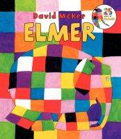 ElmerBoardBookBoardbook英文原版