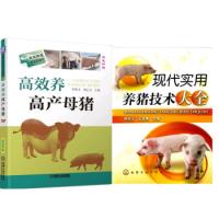区域包邮高效养高产母猪+现代实用养猪技术大全2本