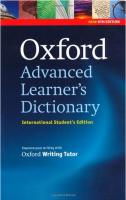 英文原版OALD8牛津高阶英英词典英语辞典第8版,国际版平装无光盘,原装正品进口