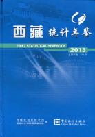 西藏统计年鉴2013(中英文对照赠电子版)