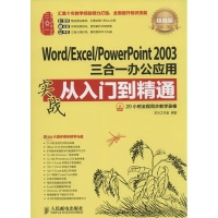 WordExcelPowerPoint2003三合一办公应用实战从入门到精通计算