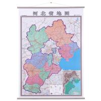 河北省地图挂图竖版1米*1.4米中国分省系列挂图
