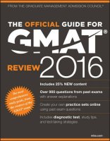 TheOfficialGuideforGMATReview2016withOnlineQuestionBankandExclusiveVideo