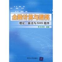 金融计算与建模:理论、算法与SAS程序