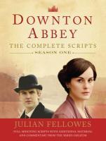 DowntonAbbey,Season1:TheCompleteScripts唐顿庄园第一季剧本英文原版