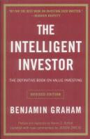 TheIntelligentInvestor:TheDefinitiveBookonValueInvesting聪明的投资者:价值投资的权威之作英文原版