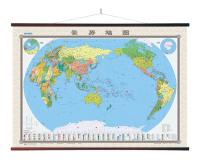 【官方直营】2015世界地图挂图(小四全比例尺1:2240万)1.8米*1.3米