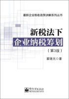最新企业税收政策讲解系列丛书:新税法下企业纳税筹划(第3版)