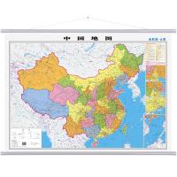 中国地图挂图世界地图挂图1.1m启航版单张双面