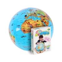 软软的地球-儿童地球仪-地形版-动物图案+地形地