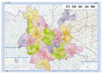 2015年1:125万云南省地图(最新版)