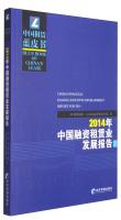 中国租赁蓝皮书:2014年中国融资租赁业发展报告