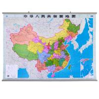 中国地图挂图1.1米2015年新版中华人民共和国全图办公学习地理通用