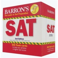 Barron'sSATFlashCards,2ndEdition(LeaderinTestPreparation)