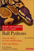 BallPythons(ReptileandAmphibianKeeper'sGuide)