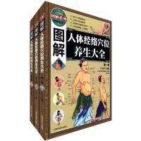 图解系列:图解人体经络穴位养生大全(套装共3卷)