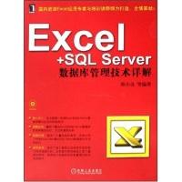Excel+SQLServer数据库管理技术详解(附CD光盘1张)