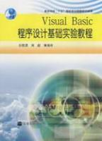 VISUALBASIC程序设计基础实验教程