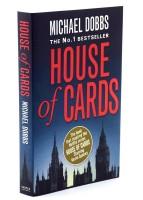 HouseofCards纸牌屋英文版原版第一季Netflix美国电视剧原著小说书