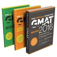 [包邮套装](2016)GMAT官方指南:综合/语文/数学(共3册)新东方