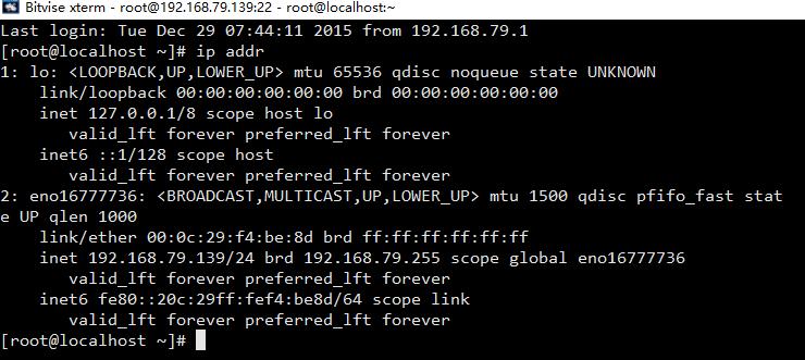"CentOS 7最小化启用并使用""ifconfig""命令"