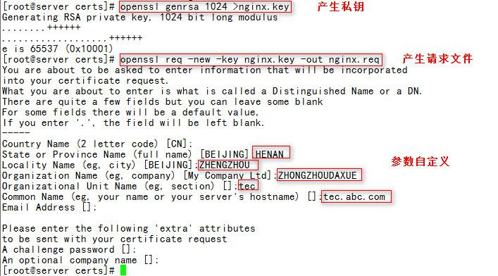 nginx的压力测试、访问方式及加密