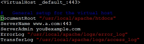 CentOS系统web服务启用https