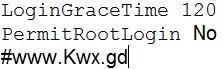 Centos 禁止root帐号直接登录
