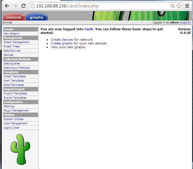 Centos6.7安装Cacti教程