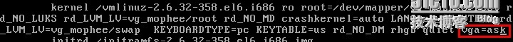 Centos最小化安装后调整终端分辨率