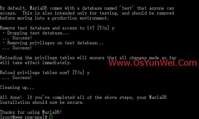 CentOS 7.0搭建LAMP服务器(Apache+PHP+MariaDB)