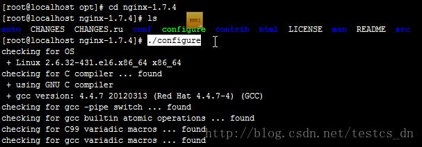 CentOS6.5下安装Nginx1.7.4