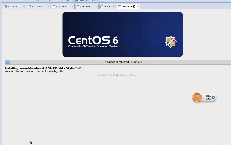 centos6.5在VMware和Oracle VM VirtualBox下安装的区别