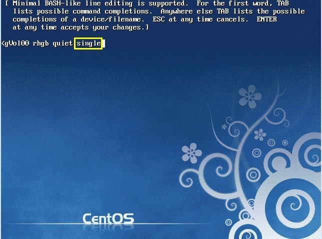 CentOS6.6强行破解root密码