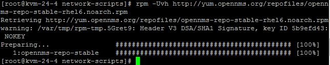 CentOS安装OpenNMS教程