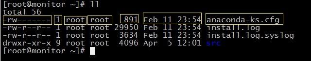 CentOS 6.4 文件属性和默认权限