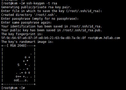 CentOS 6.6 ssh key 免密码登陆