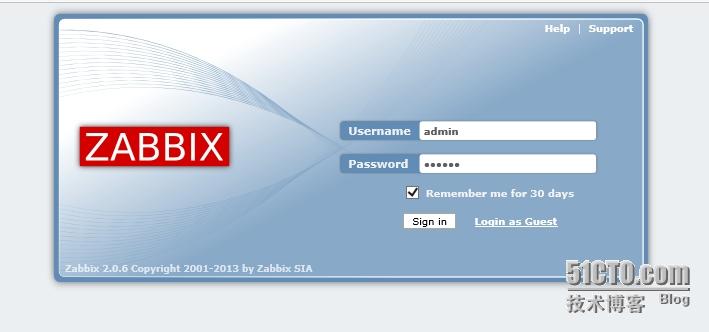 CentOS6.4下搭建zabbix2.0.6