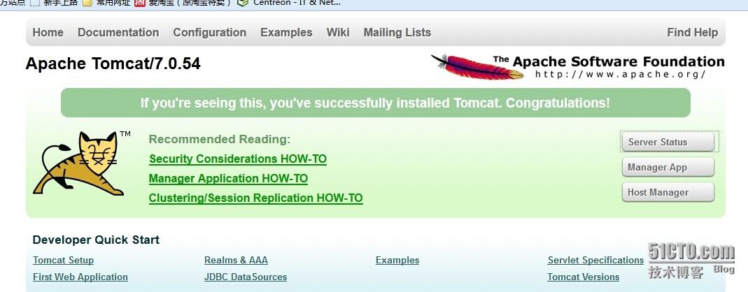 CentOS6.4下搭建tomcat7