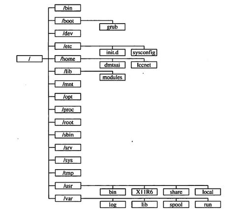 CentOS标准目录结构详细版
