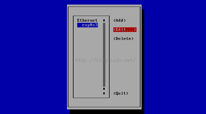CentOS7minimal配置网络连接