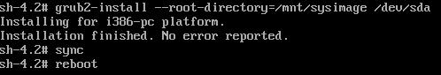 CentOs7修复MBR和GRUB教程