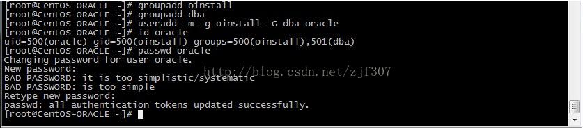 CentOS 6.5下安装Oracle 11g