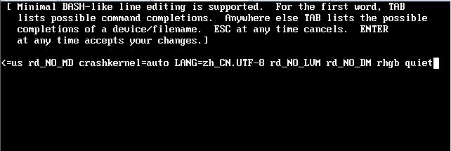 Centos6.4忘记密码 单机下修改root密码