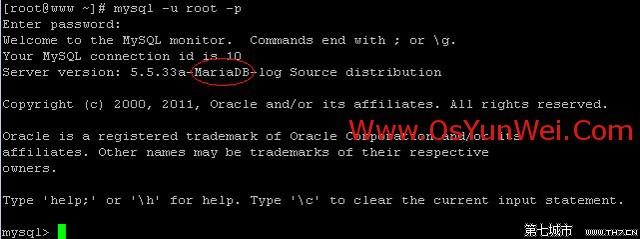 CentOS6.x下编译安装配置MariaDB数据库笔记(测试通过)