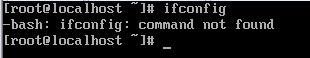解决centos7没有安装ifconfig命令