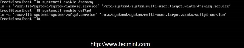 CentOS 7 64位安装配置PXE服务器